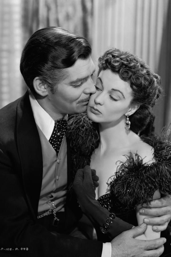 Best Southern Love Stories of All Time: Scarlett O'Hara and Rhett Butler from Gone With The Wind