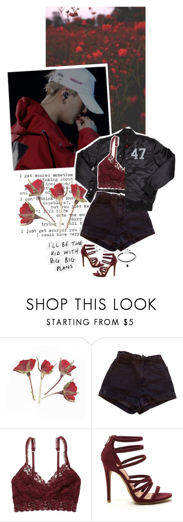 """""""The Kid with Big Plans feat. Min Yoongi"""" by luminoussuga ❤ liked on Polyvore featuring Trapstar, American Apparel and American Eagle Outfitters"""