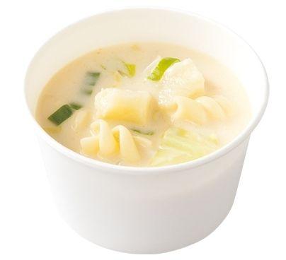 ロッテリア 7種野菜のミルクスープ 具だくさん