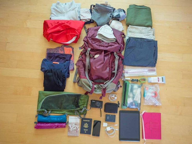Camino De Santiago Packing List - great list!