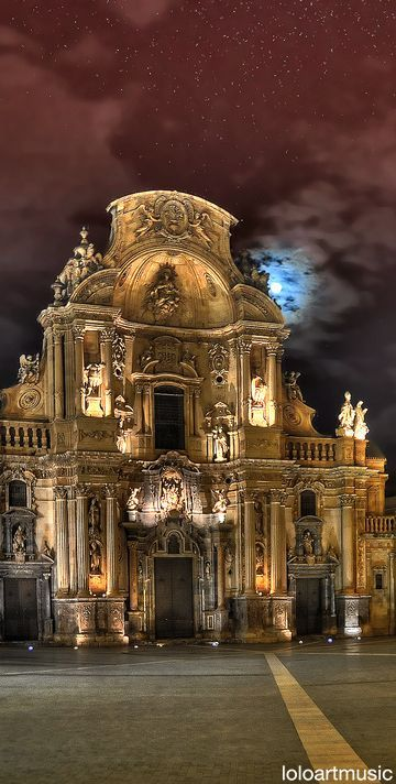 Cathedral of Murcia, Spain. ⛪⛪⛪