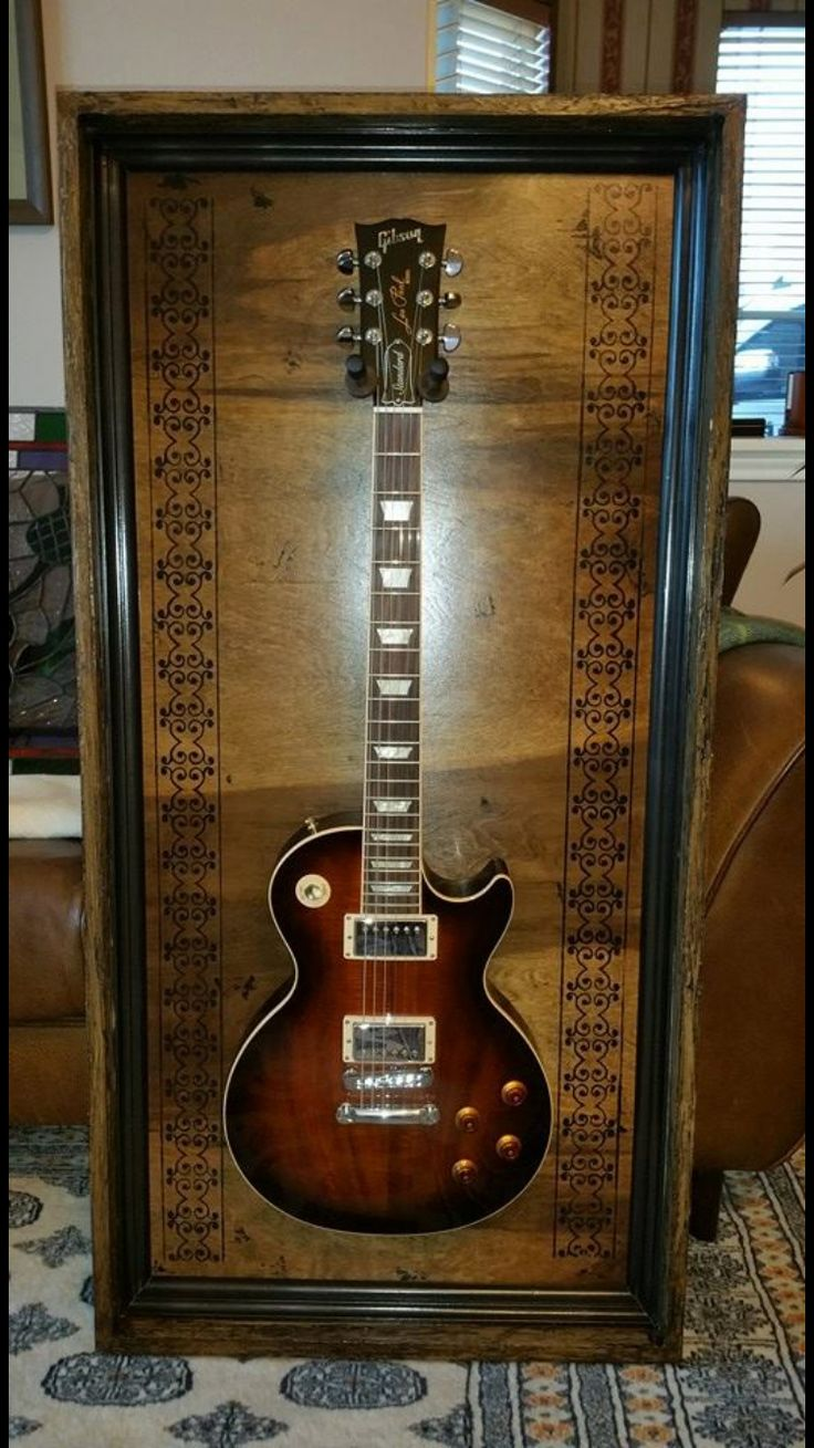 "18 best Guitar Display Case ""Brown Kerrville"" images on Pinterest"