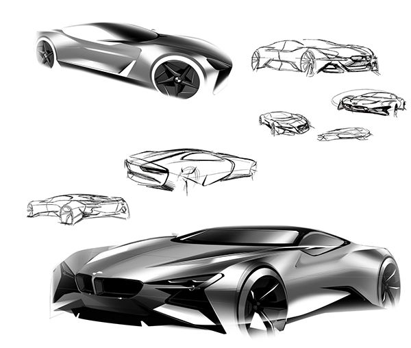 BMW Intaglio on Behance