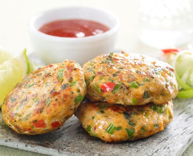 Thai Fish Cakes Recipe | Appetizers and Canapés, Fish Course, Starters Recipes | Kitchen Goddess