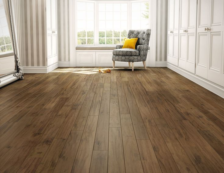 Hardwood flooring Preverco - Beach Lovers Space– Hard Maple, wave texture, color Bora
