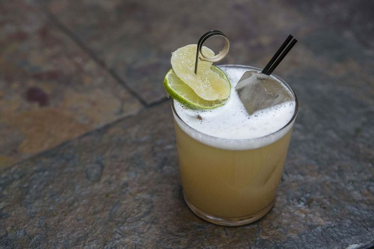 Brooklyn Burro 2 oz El Dorado 3 Year Rum  .5 oz ginger syrup  .5 oz pineapple juice  .5 oz lime juice  2 dashes Angostura Bitters  Top with soda  Garnish with a lime wheel and a ginger candy