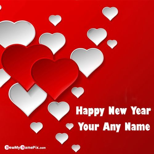 Unique Happy New Year 2020 Wishes Card With Name Photo Create Name Image Happy New Year Wishes Happy New Year Cards New Year Wishes