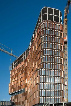 Maersk Building – Science Tower for the Panum Complex, University of Copenhagen, by C.F. Møller Architects.