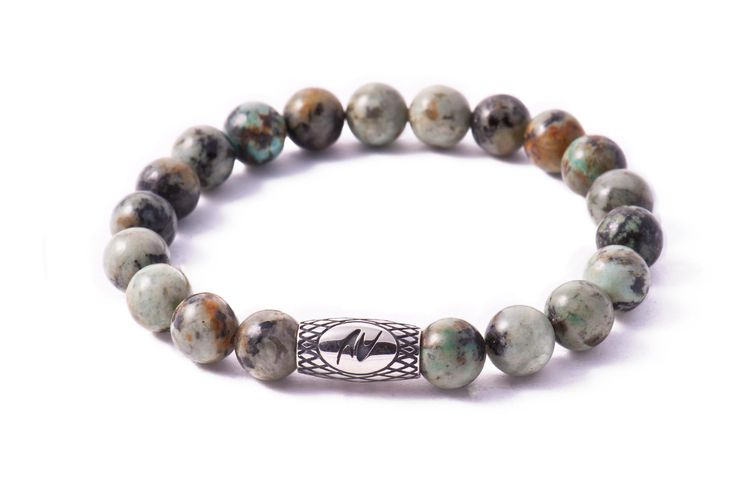 Stone African #Turquoise Bracelet By Negrato