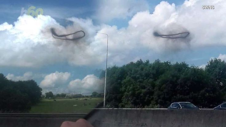 "People are claiming these UFOs made of ""smoke vortexes"" are proof of aliens. Nathan Rousseau Smith (@fantasticmrnate) investigates."