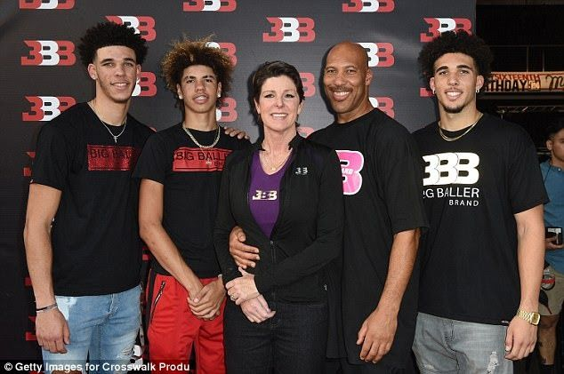 Liangelo And Lamelo Ball Plan To Play Together Overseas Lamelo Ball Liangelo Ball Lonzo Ball