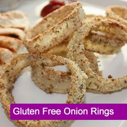 Gluten Free Onion Rings (uses almond meal and parmesan cheese with ...