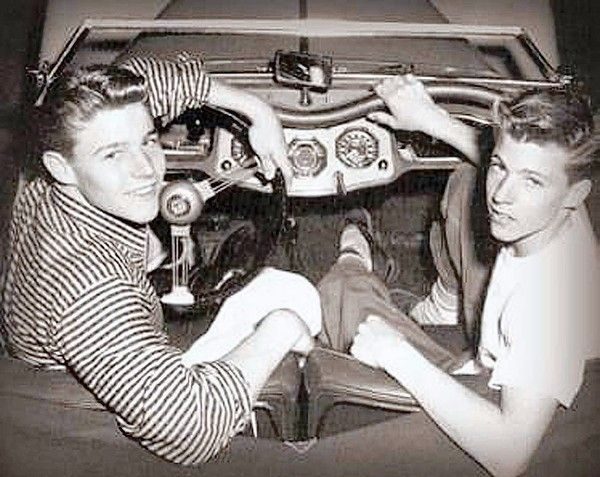 Ricky Nelson Death | david left and ricky nelson david nelson last surviving star of the ...