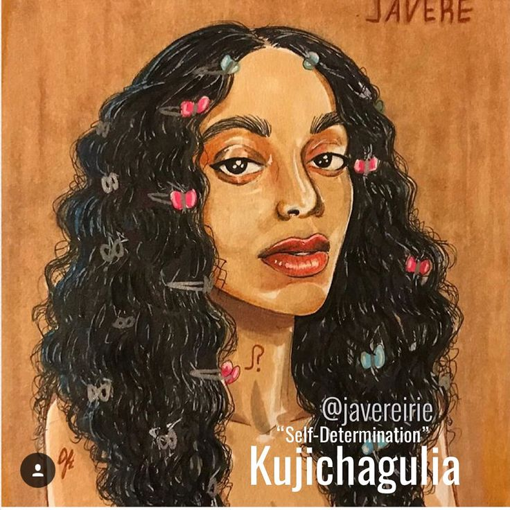 """Happy Kwanzaa • The second principle is """"Kujichagulia"""" or Self Determination. To define ourselves, name ourselves, create for ourselves and speak for ourselves. Solange is one of those dope Black artists that embodies every aspect of this. #bewell @saintrecords #solange #melanin #queen #aseatatthetable x #ceceproud #proudfamily #sketch #chill #vibes #dope #black #art #cute #naturalhair #peace #love"""
