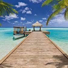 Afbeeldingsresultaat voor tropisch strand thema kinderslaapkamer