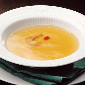 気仙沼産の良質なふかひれ由来のコラーゲンを贅沢に使用。【フカコラーゲンスープ「褒美」】