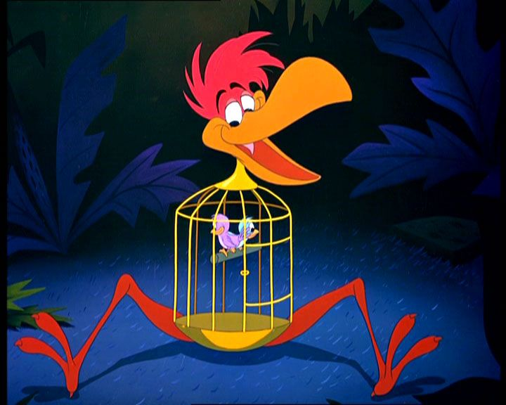 cage birds play characters