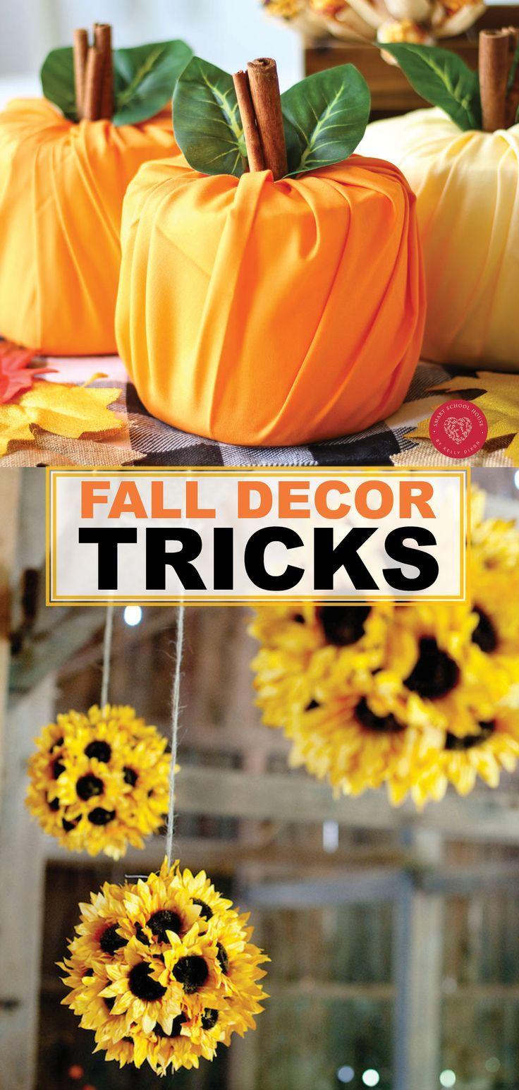 Fall Decorating Hacks