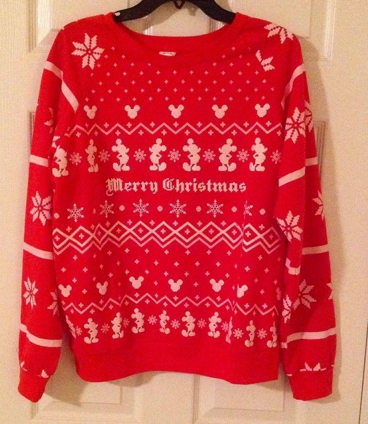 christmas sweaters disney