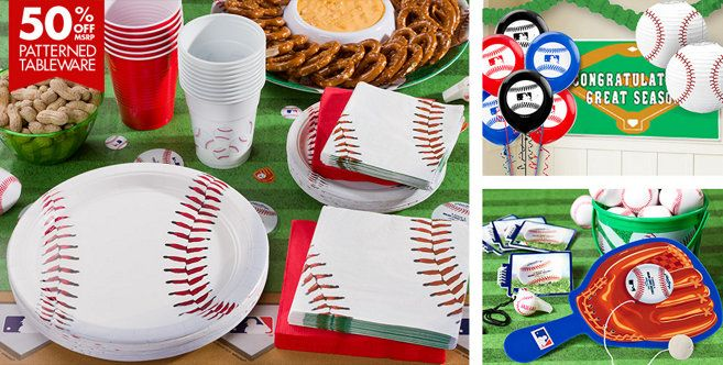 Baseball Party Supplies - Party City