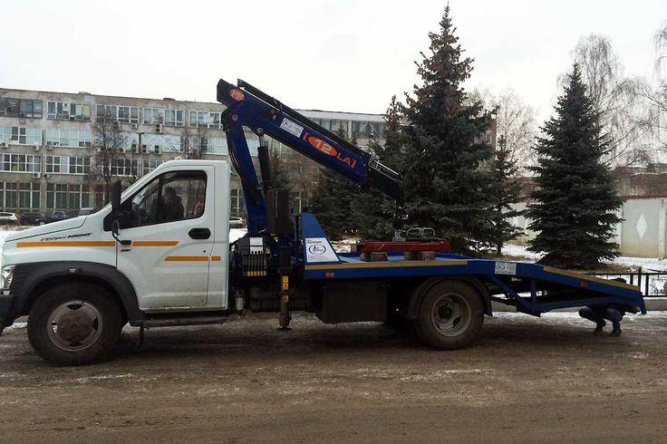 GAZ - ГАЗон Next с КМУ  PM12012L