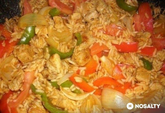Bolgár rizses hús