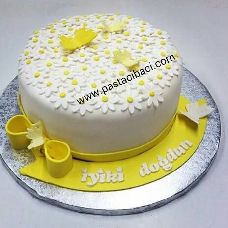 Doğum günü pastası www.pastacibaci.com