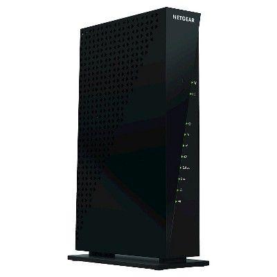 Netgear AC1750 WiFi Docsis 3.0 Cable Modem Router (C6300), Black