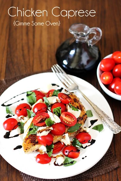 Chicken Caprese Prep Time: 5 minutes Cook Time: 15 minutes Total Time: 20 minutes Yield: 2 servings Ingredients 2 Tbsp. olive oil 2 bonele...