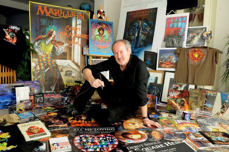 Illustrator Mark Wilkinson