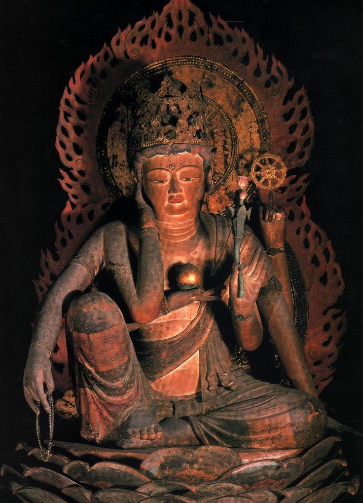 大阪  檜尾山観心寺金堂 如意輪観音菩薩坐像
