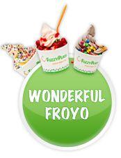 Fuzzy Peach Frozen Yogurt Bar and Frozen Yogurt - Surf City