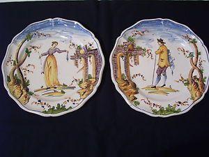 antichi-piatti-ceramica-maiolica-ligure-SAVONA-albisola-levantino-1700-1800-039-800