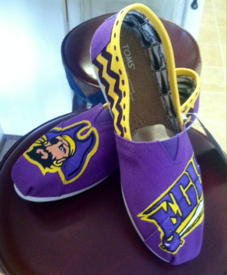 ECU Toms - Made these for one of my friends today!