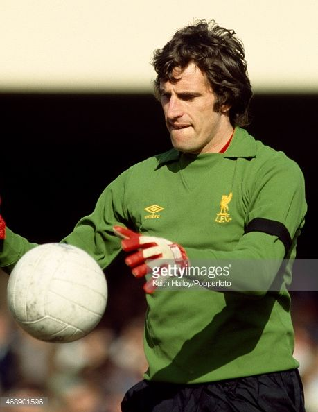 Liverpool goalkeeper Ray Clemence circa 1979