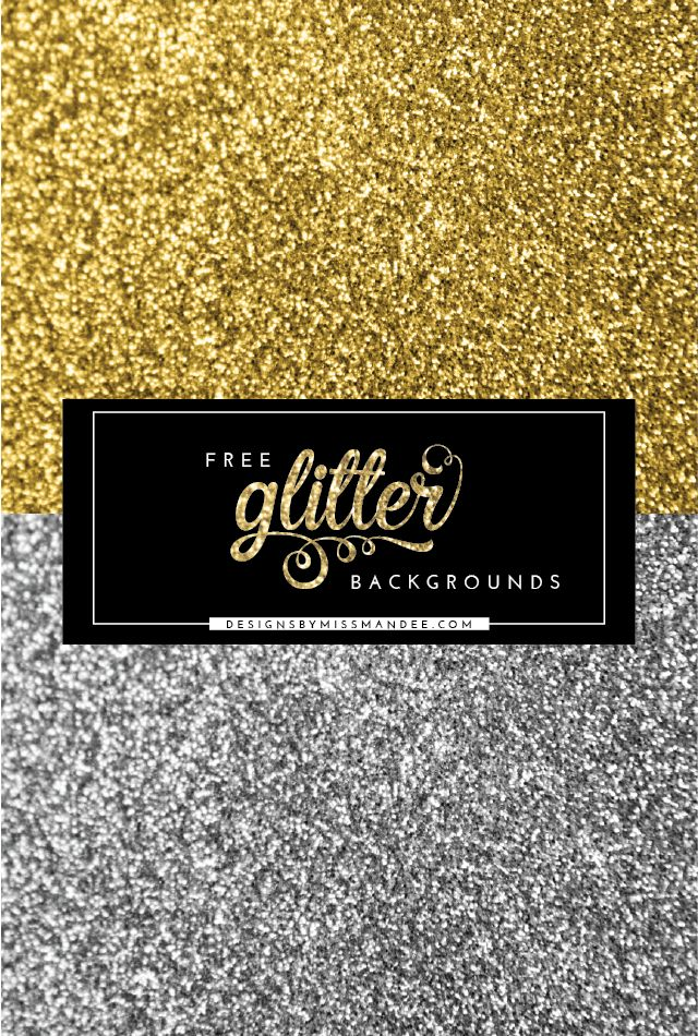 Free Glitter Backgrounds - Designs By Miss Mandee. Beautiful sparkly textures, perfect for wedding invitations, stationary, and making glitter words!
