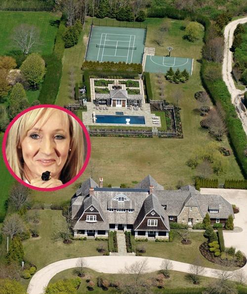 J K Rowling S Hamptons Home In 2019 Celebrity Houses Celebrity Mansions Hamptons House