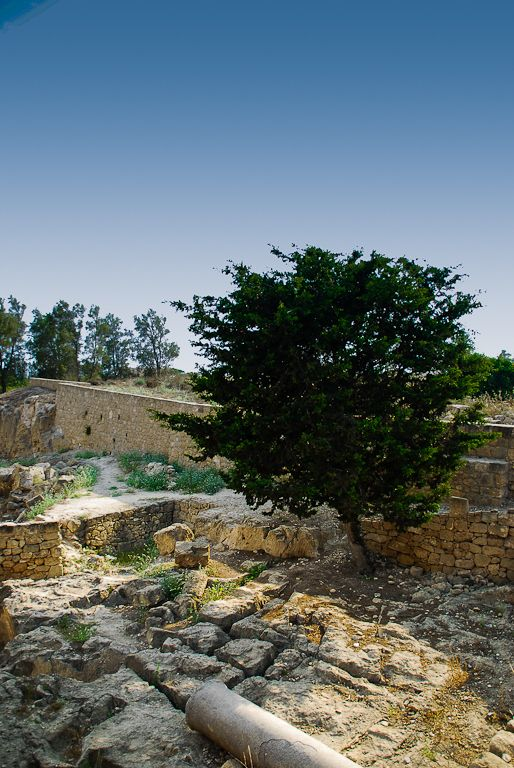 Ruins near Paphos, Cyprus