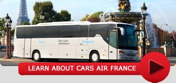 Les Cars Air France:  This bus service from all Paris airports is a nice alternative to the RER and less cost than a cab for two people.