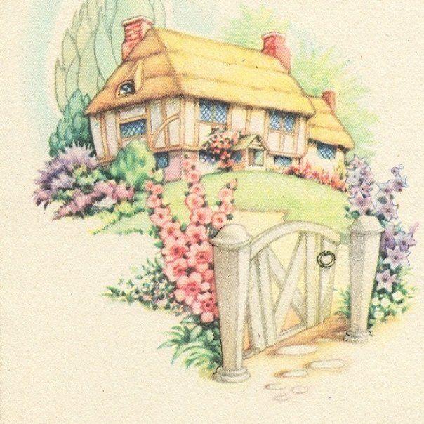 740 Best Cottage Art Images On Pinterest
