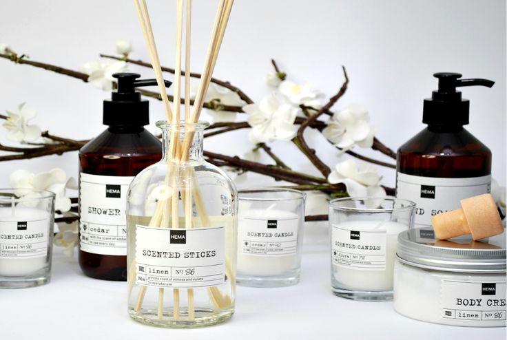 Laat je huis en jezelf lekker ruiken met onze geurlijnen.