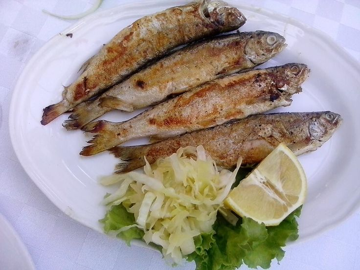 This is called Belushka, is smaller fish but very tasty ...
