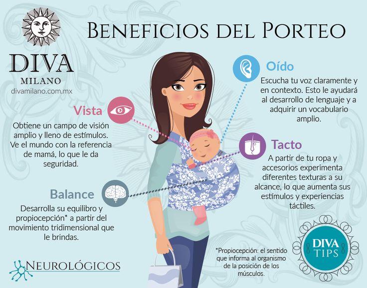 El porteo brinda muchos beneficios para el desarrollo de tu bebé, conoce los que tienen impacto a nivel neurológico.  Compártelo con tus amigos que son padres o están por serlo.  Consigue tu Diva aquí: http://divamilano.com.mx/  Contáctanos vía WhatsApp (55) 3409-5105 o por teléfono (55) 8421-323