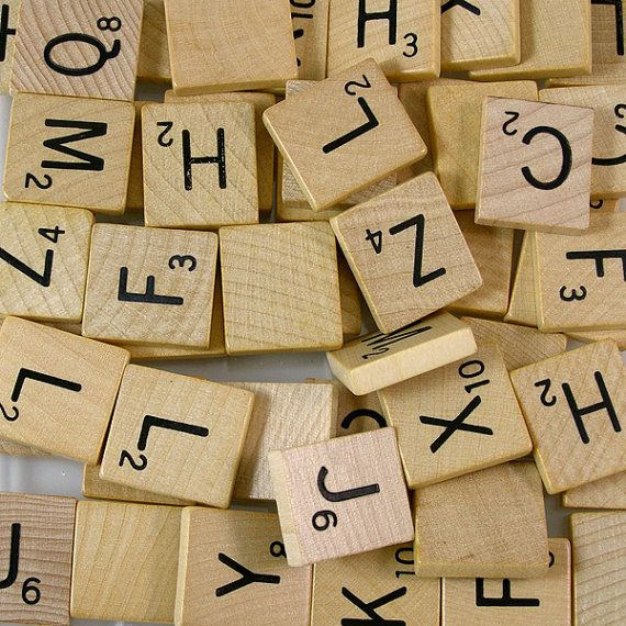 Foreign Scrabble Letters - Odd Number Values by XOSupplies $8.75