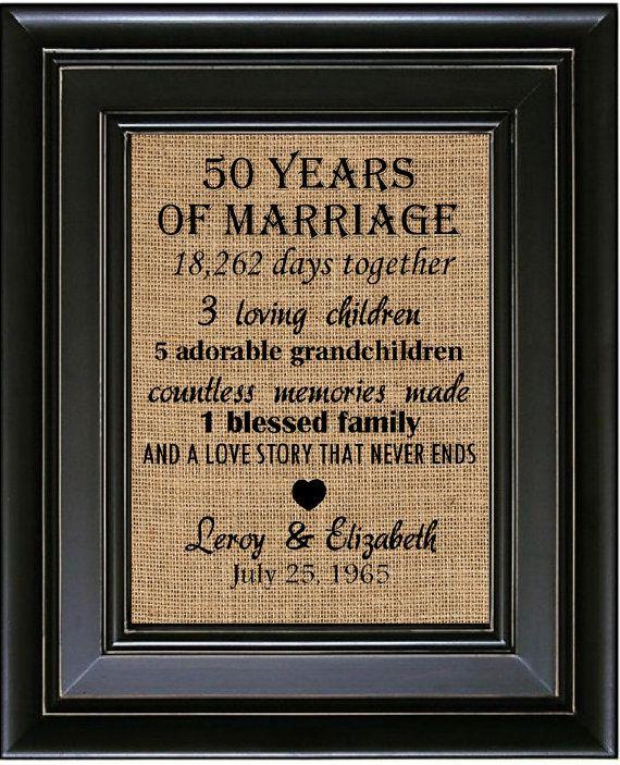 50 Year Weding Aniversary Gift 06 - 50 Year Weding Aniversary Gift
