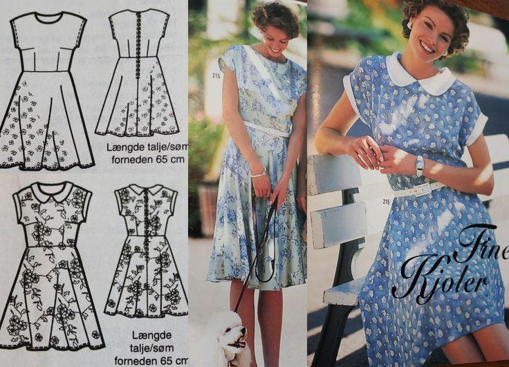 ~GNIST~: Enkel kjole i retro stil