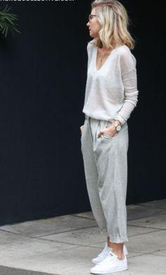 Grey + Loungewear