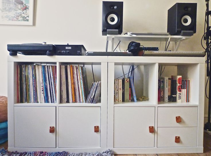 Ikea Expedit Makeover | ArtCream (NOTE: two IKEA Expedit ...
