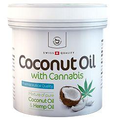 Kokosový olej skonopím
