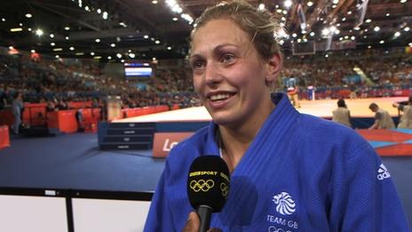 London 2012 Olympics - Gemma Gibbons : Great Britain & N. Ireland, Judo